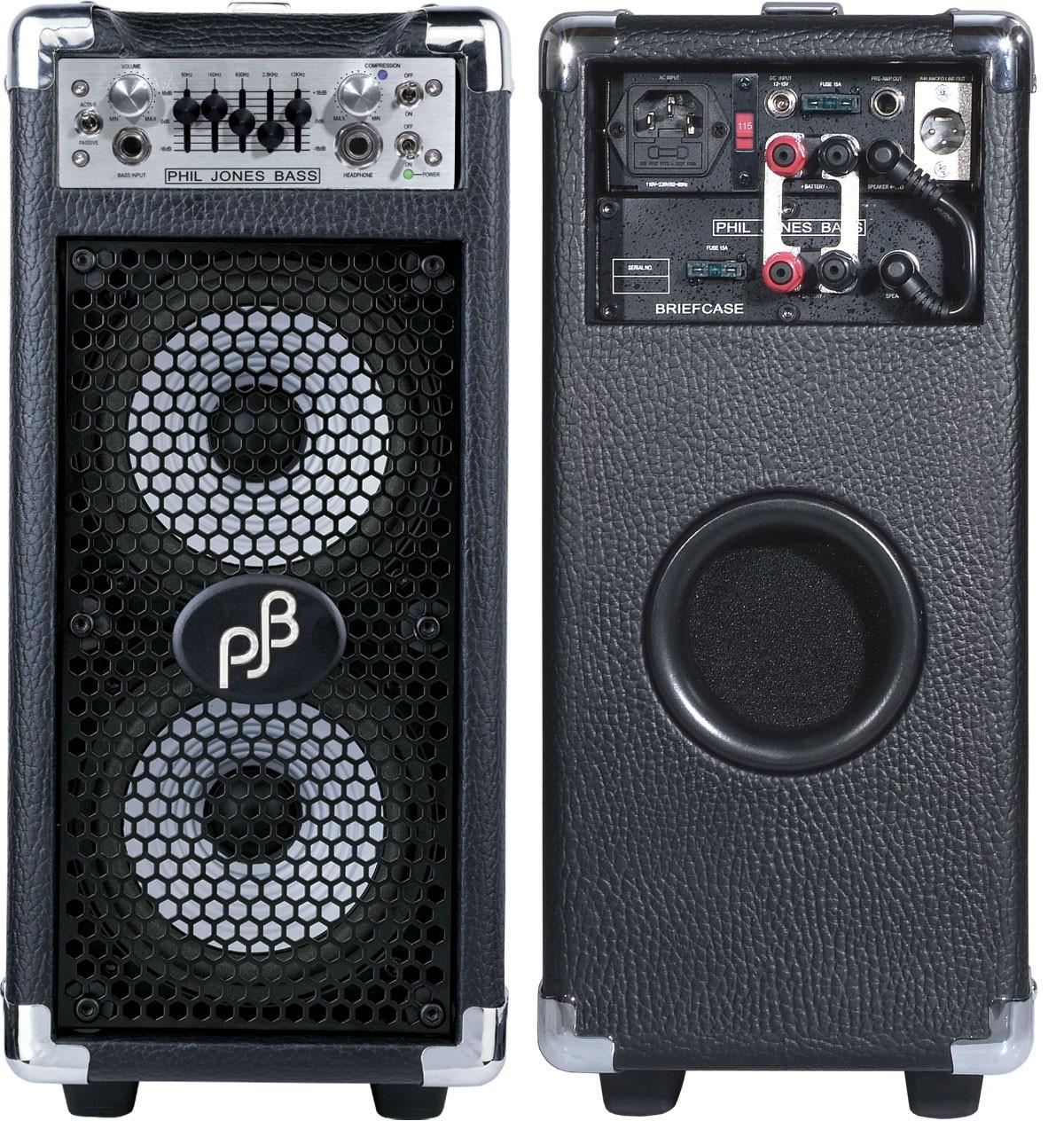 Briefcase Bass Combo Phil Jones Bass